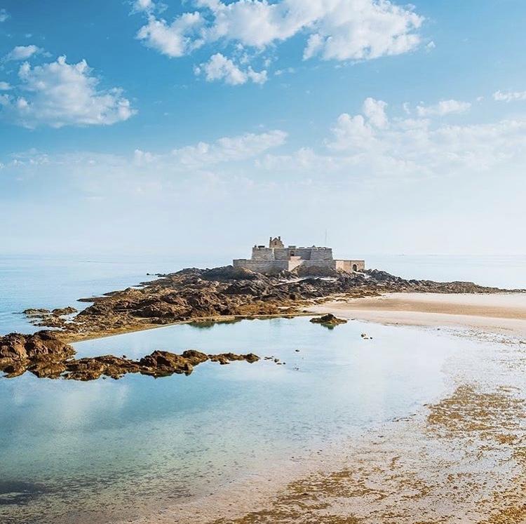 Le Fort National emblématique de Saint-Malo