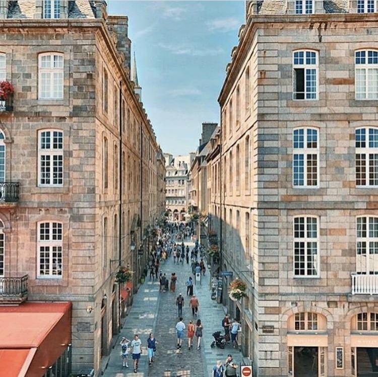 Les rues de l'intra-muros