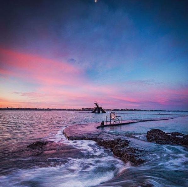 Les couchers de soleil à Saint-Malo Bon secours