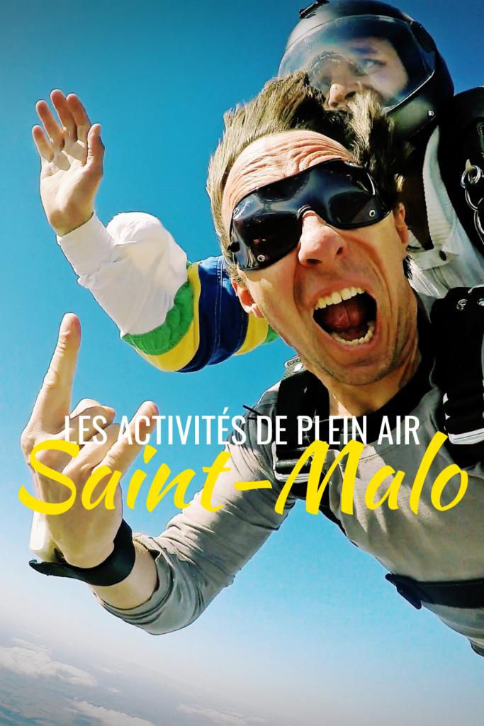 Les activités de plein air Saint-Malo