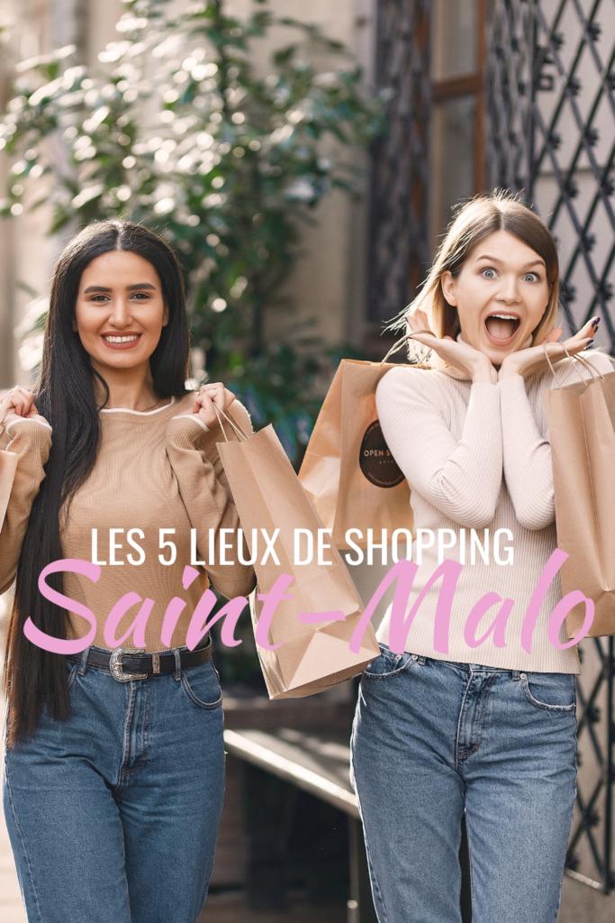 Les 5 lieux de shopping Saint-Malo