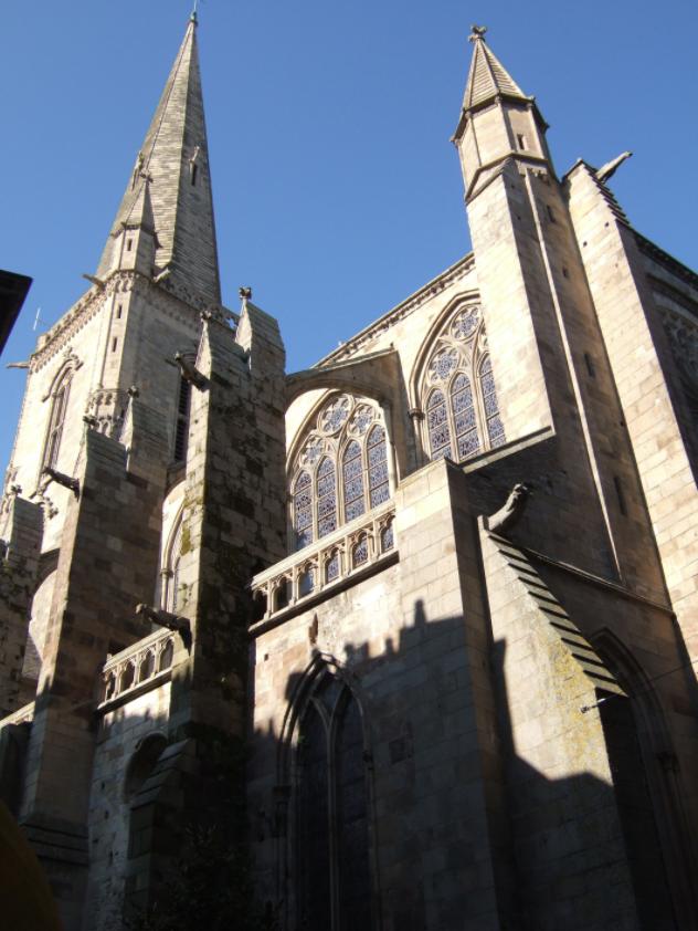 Cathédrale Saint-Vincent Les monuments historiques de Saint-Malo