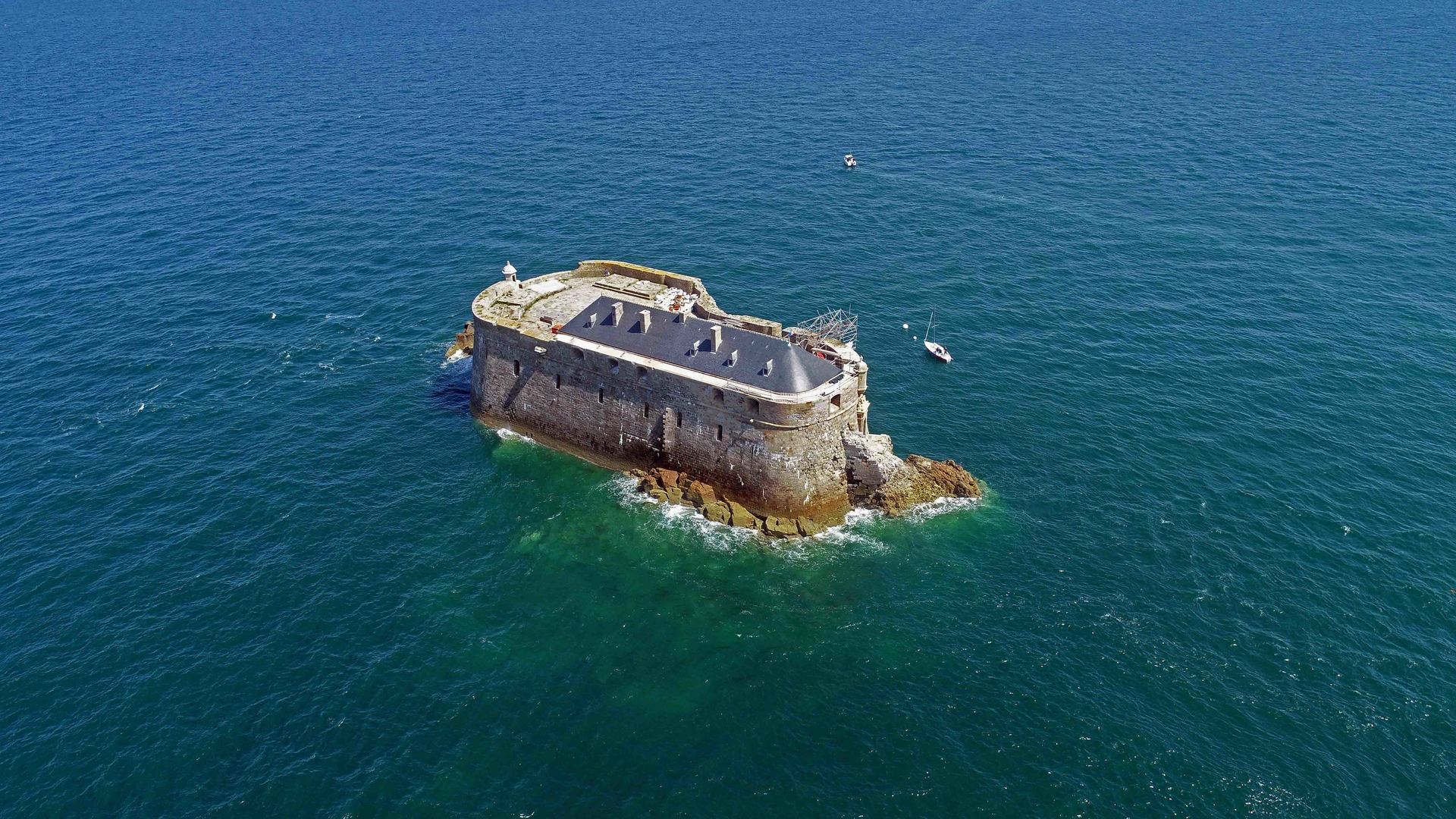 Le Fort de la Conchée Les monuments historiques de Saint-Malo