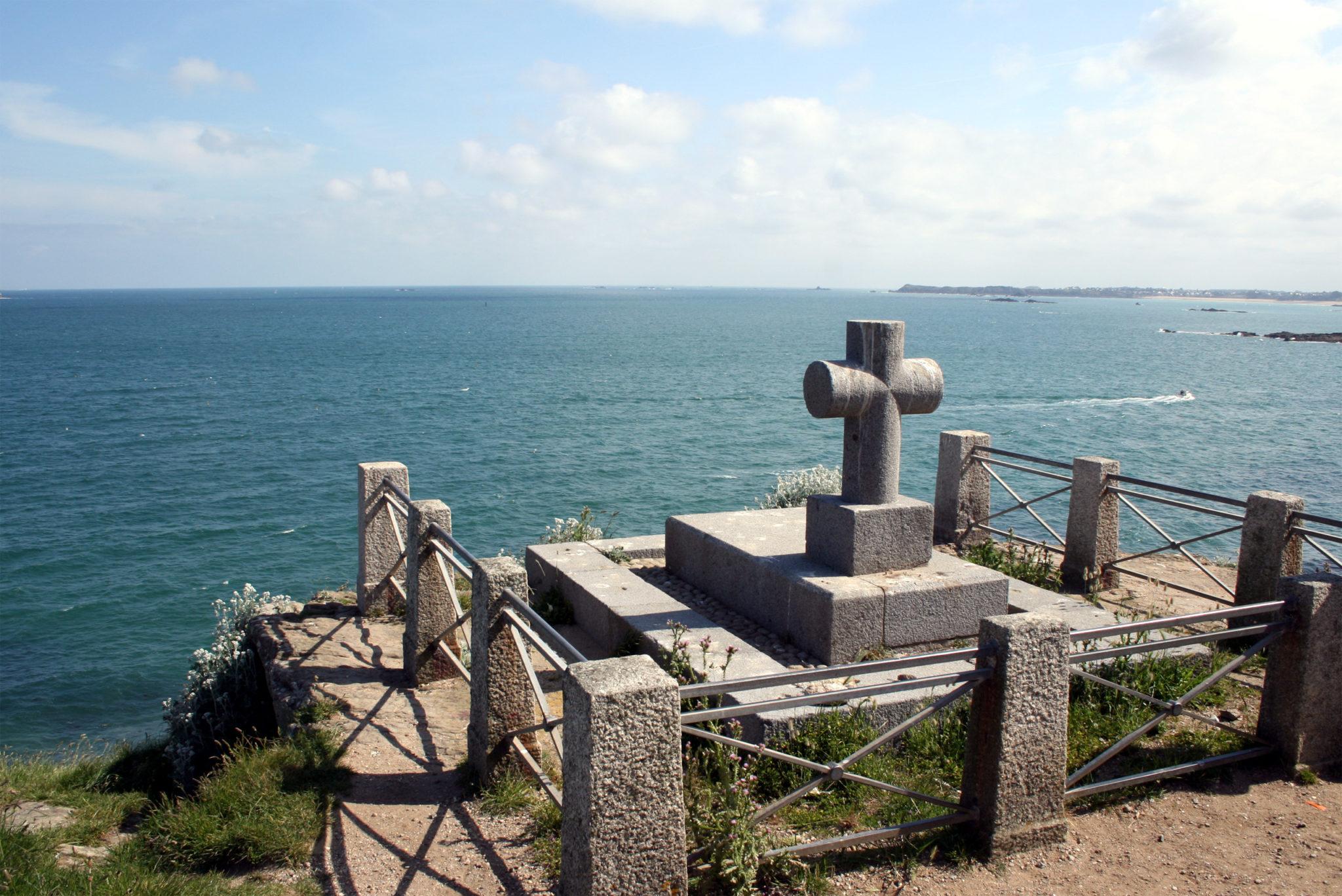 Île du grand Bé Les monuments historiques de Saint-Malo