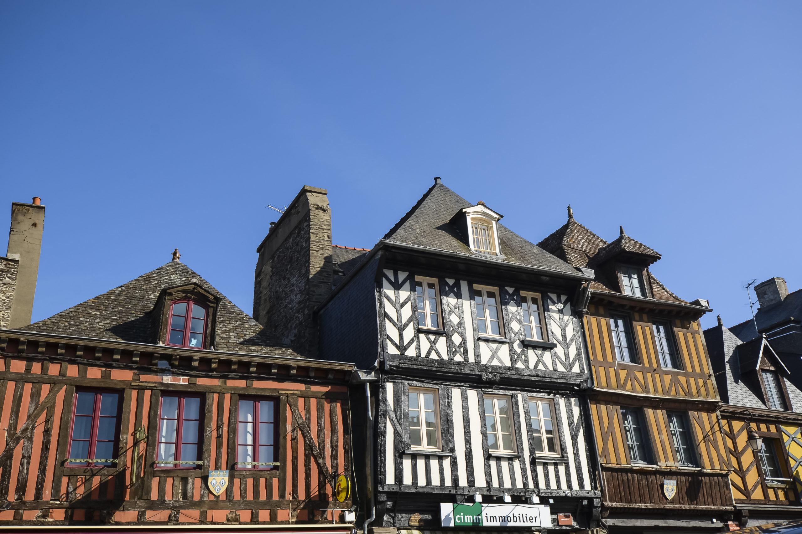 La ville de Dol de Bretagne Plus belles villes à visiter en Ille-et-Vilaine Bretagne.