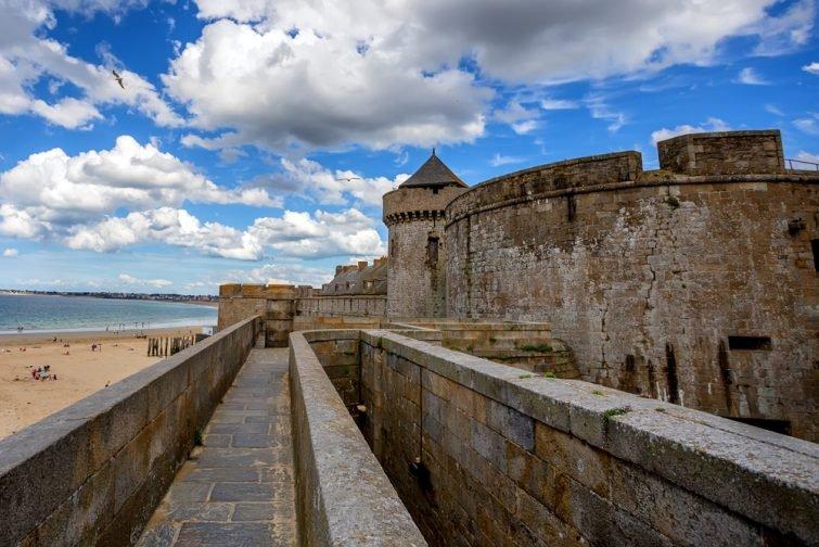 Les monuments historiques de Saint-Malo