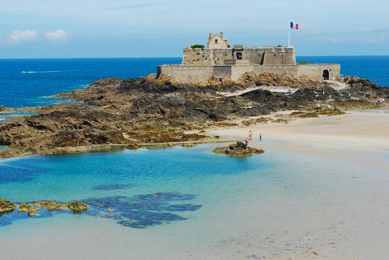 Fort National Les monuments historiques de Saint-Malo