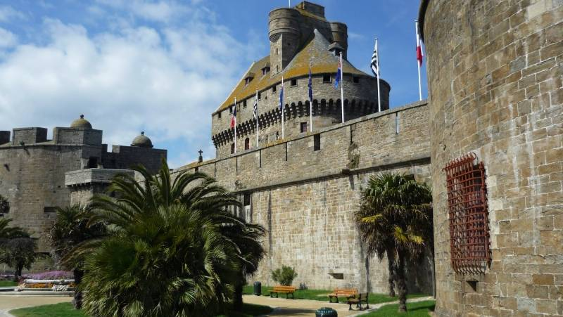 Château de la duchesse anne Les monuments historiques de Saint-Malo